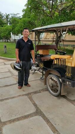 Shinta Mani Club: No 16, best tuk tuk driver ever :)