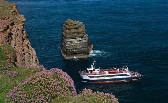 ‪‪John O'Groats‬, UK: Wildlife Cruise around Stacks of Duncansby‬