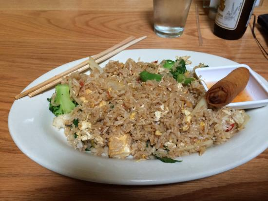 Spicy Noodles With Tofu Picture Of Thai Smile 2 Durham Tripadvisor