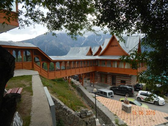 Hotel Kinner Kailash (HPTDC): One of the view of Hotel
