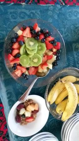 Seaway Guest House: Nice fresh fruit for breakfast