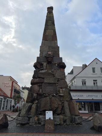 Norderney, Germany: Kasier-Wilhelm-Denkmal