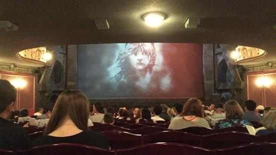Les Miserables London : View from our seats(Stalls; Row S)