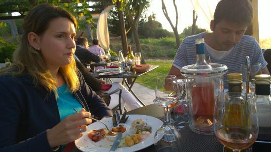 Hotel Santo Stefano : Cena dalla terrazza