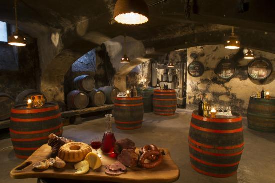 Gostilna Kunstelj: Fancy some wine tasting? Welcome to our wine cellar! Reservation required:)