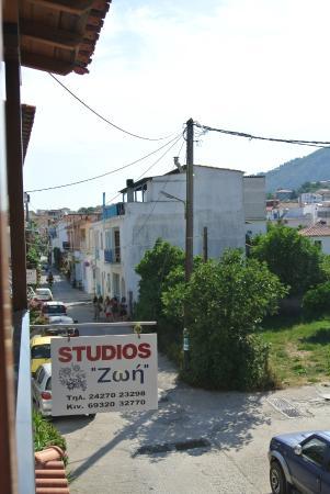 Studios Zoi: Uitzicht vanaf studio 4