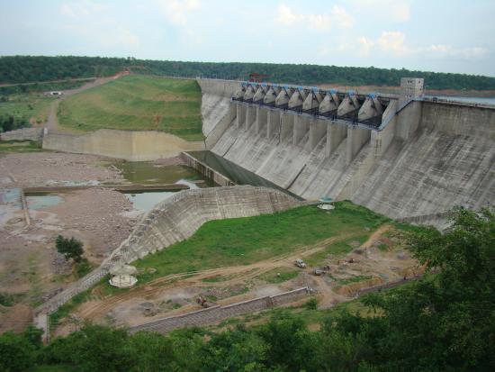 Shivpuri, India: Madikheda Dam