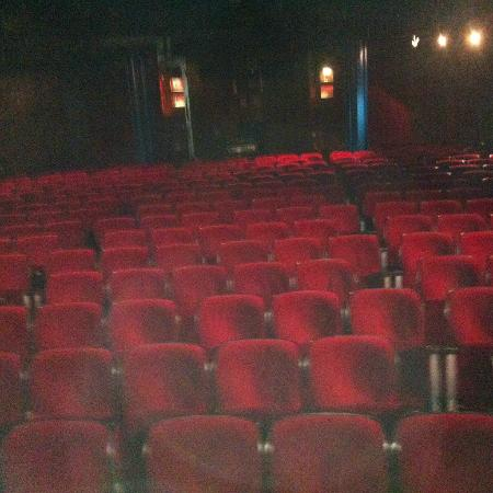 Leicester Square Theatre: Before the audience arrive