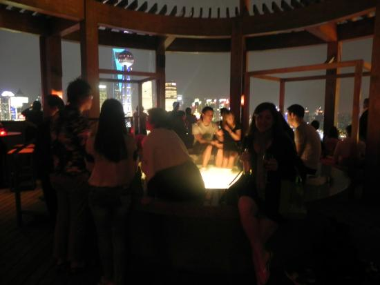 Terrasse Picture Of Vue Restaurant Shanghai Tripadvisor