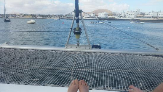 On the boat - kuva: Oby Catamaran, Corralejo - TripAdvisor