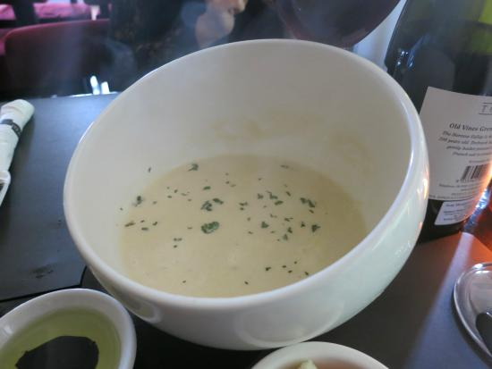 That Little Wine Bar: Asparagus Cream Soup