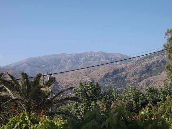 Athena Hotel: View from Balcony