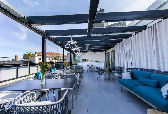 Klaus K Hotel: Sky Terrace