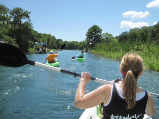 Rainbow River Canoe and Kayak: Paddle Down the Rainbow River