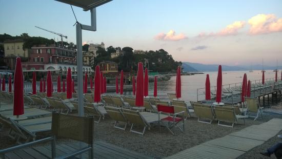 spiaggia - Picture of Bagni Central, Santa Margherita Ligure ...