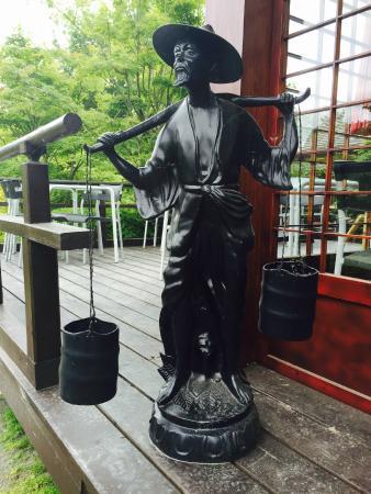 De Japanske Haver Cafe: Der bydes velkommen indenfor.