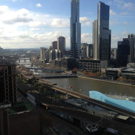From the 24th Floor overlooking Yarra and Southbank