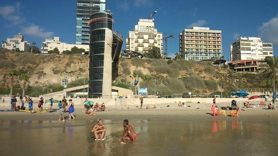 Residence Beach: Лифт
