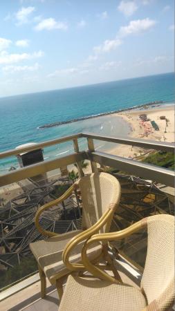 Residence Beach: Вид из номера 6-го этажа