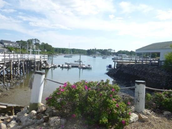 York Harbor, ME: First section, view of the harbor