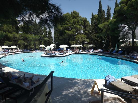 Inside Pool Picture Of Hotel Croatia Cavtat Cavtat Tripadvisor