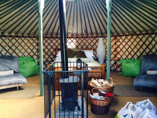 East Thorne-Cornwall Yurts and Cottages Photo