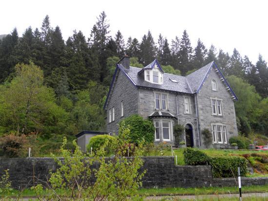 Craiglinnhe House : Aussenansicht