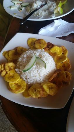 Calypso: Рис с банановыми чипсами.