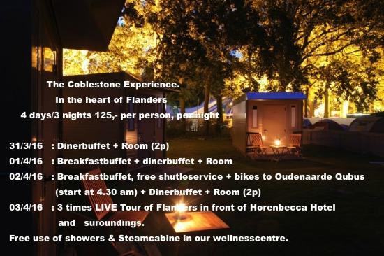 Hoorebeke, Belgio: Coblestone experience package