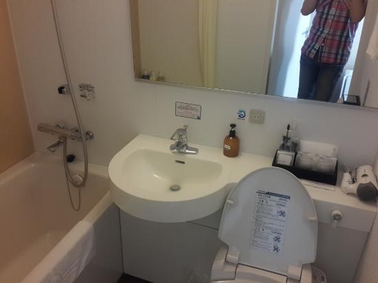 Hotel Tenjin Place: Bath room