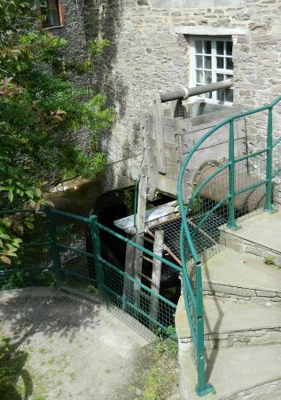 Talgarth Mill: Another View of the Wheel