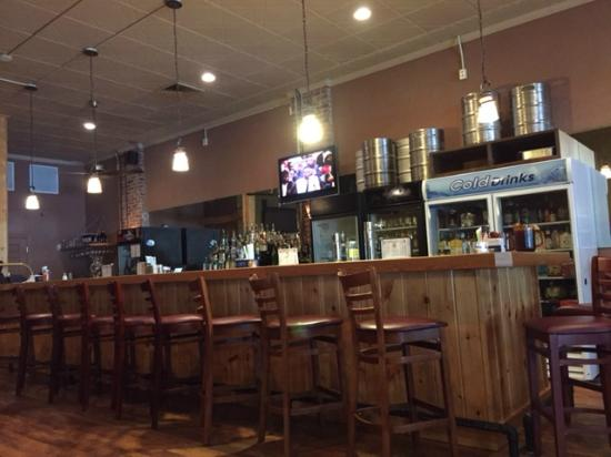 Boondocks Brewing : Rear Bar Area