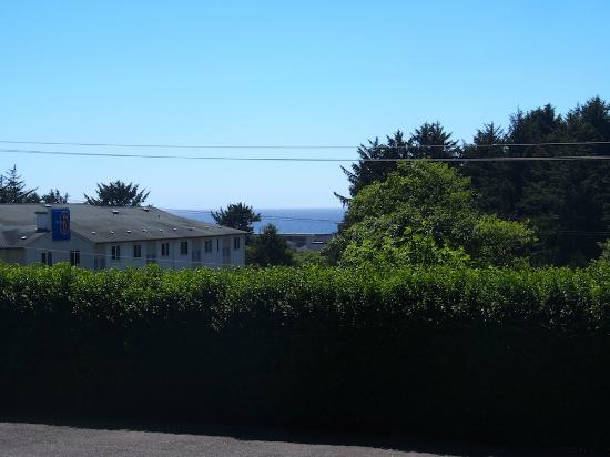 Sea Echo Motel - View from room