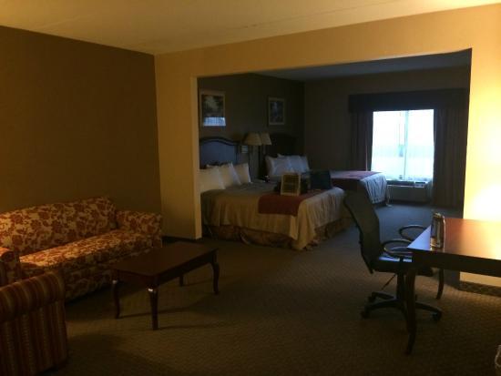 Ramada Harrisburg/Hershey Area: room