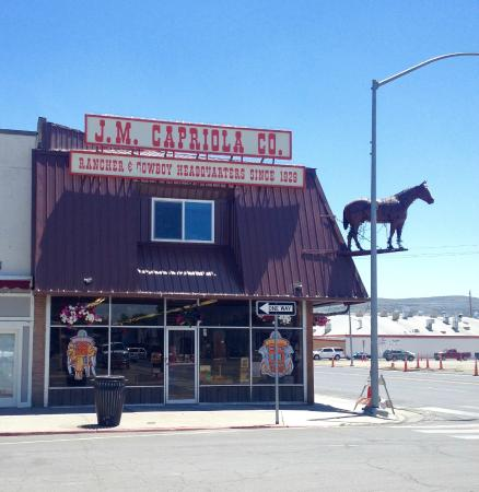 Elko, NV: This iconic store is easily spotted by the horse!