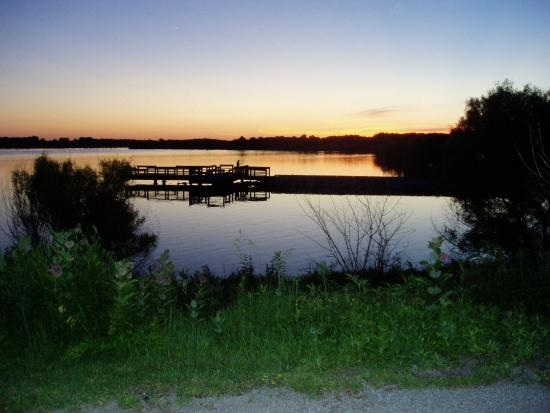 Lacey Keosauqua State Park: Sunset at beautiful Lake Sugema