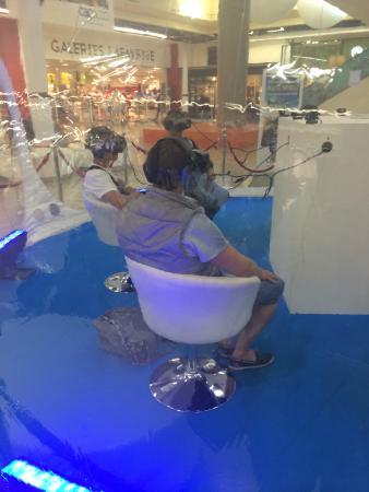 Cap 3000 : виртуальная реальность, развлечение в центре Cap3000