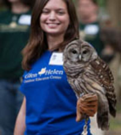 Yellow Springs, OH: A Raptor Center Naturalist at the Raptor Center Open House
