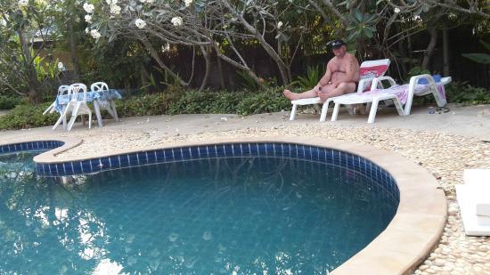 Ninja Place : kleiner aber feiner Pool