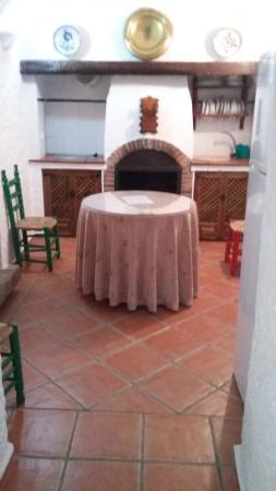 Cuevas Pedro Antonio de Alarcon: Cocina