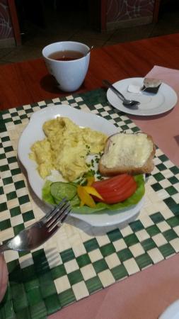 Osieczna, Polonia: sniadanie