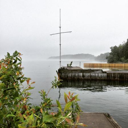 West Winds Motel & Cottages: Lovely Foggy Morning