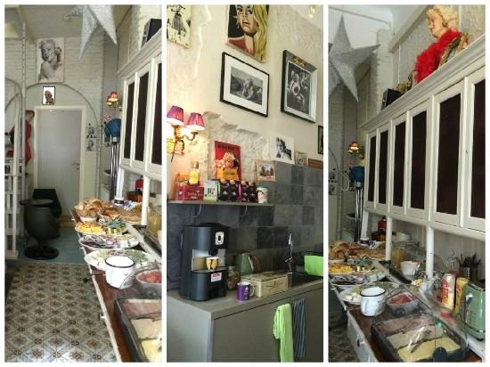 B&B Urban Dreams: Breakfast room