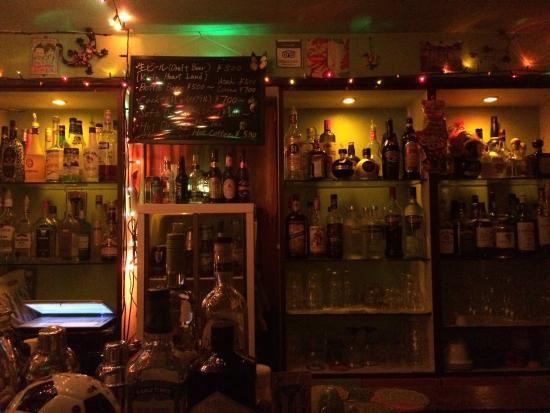 Tropical Bar Revolucion : 素敵なマスターのお店!ビルの最上階でテラスに出ると眺めも良くて開放的〜✨