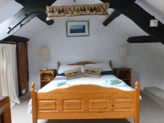 Tyddyn Iolyn Farmhouse: Bedroom