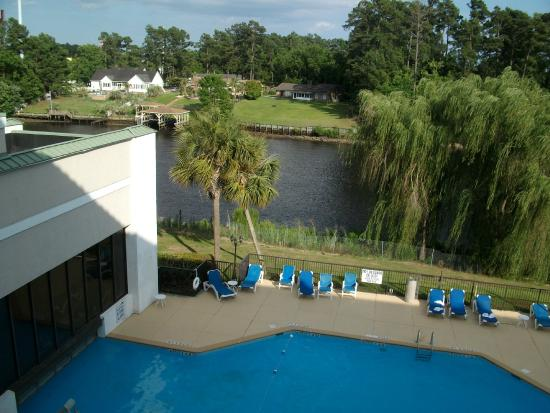 Hot tub & indoor pool - Picture of Clarion Hotel & Conference Center, Myrtle Beach - TripAdvisor