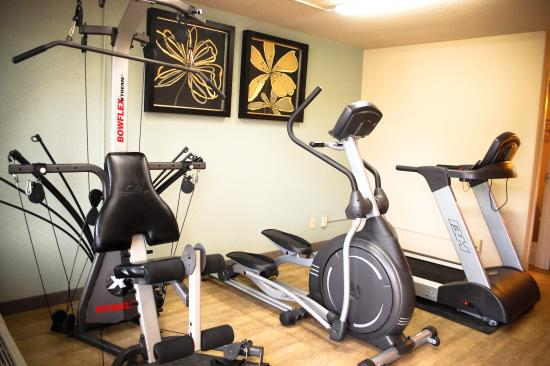 Unique Suites Hotel: State Of The Art Fitness Center!