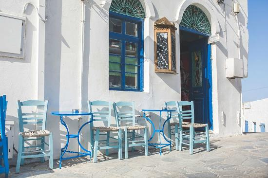 Astypalaia Hotel Palace : Oldest bar in Astypalea - Nick Rutter Photography