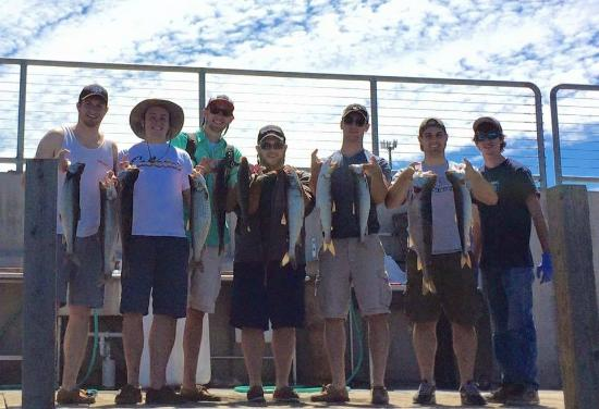 True Blue Charters: Hit our limit on Lake Trout