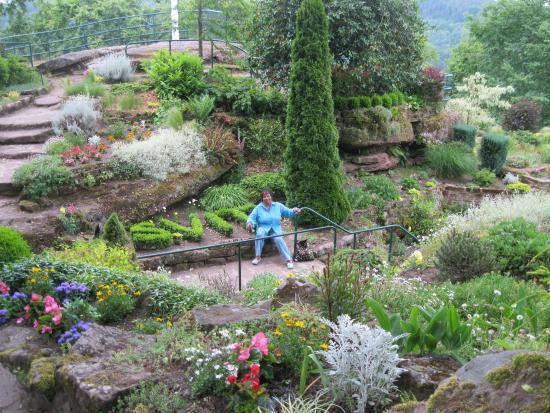 Saverne, Γαλλία: le jardin de la grotte st vit